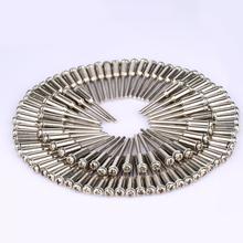 DRELD 50 Stuks 2.35mm Shank Diamantdoorslijpschijf Opspandoorns Polijsten Snijden Cut off Wiel Houder Voor Rotary Tool dremel Accessoires