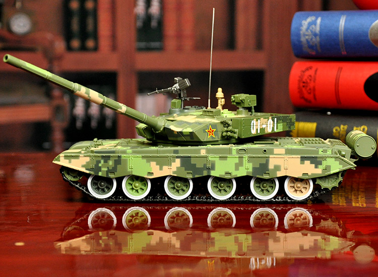 COOL--30CM long Military war enthusiast fans # 1:30 China army modern Simulated 3D T99 battle tank chariot alloy Model statue