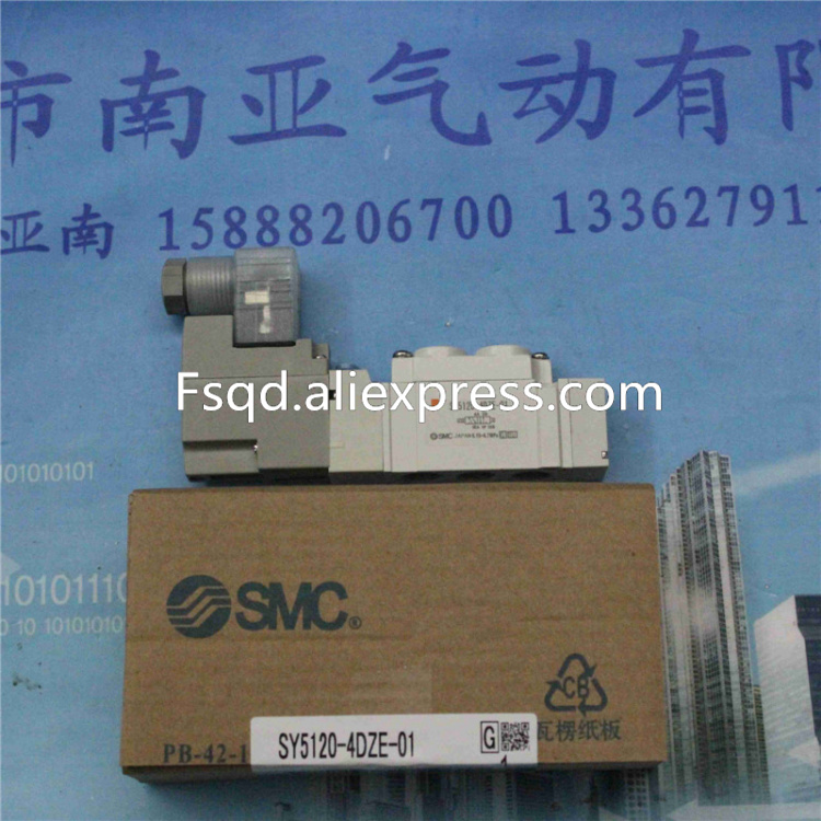 SY5120-3DZE-01 SY5120-4DZE-01 SY5120-5DZE-01 SY5120-6DZE-01  pneumatic components SMC solenoid valve japan smc pneumatic solenoid valve sy5120 5lzd 01 10 times penalty upon each false corn sy5120