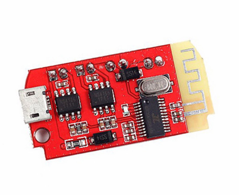 DC 3.7V 5V 3W Digital Audio Amplifier Board Double Dual Plate Bluetooth Speaker Modification Sound Music Module Micro USB DIY