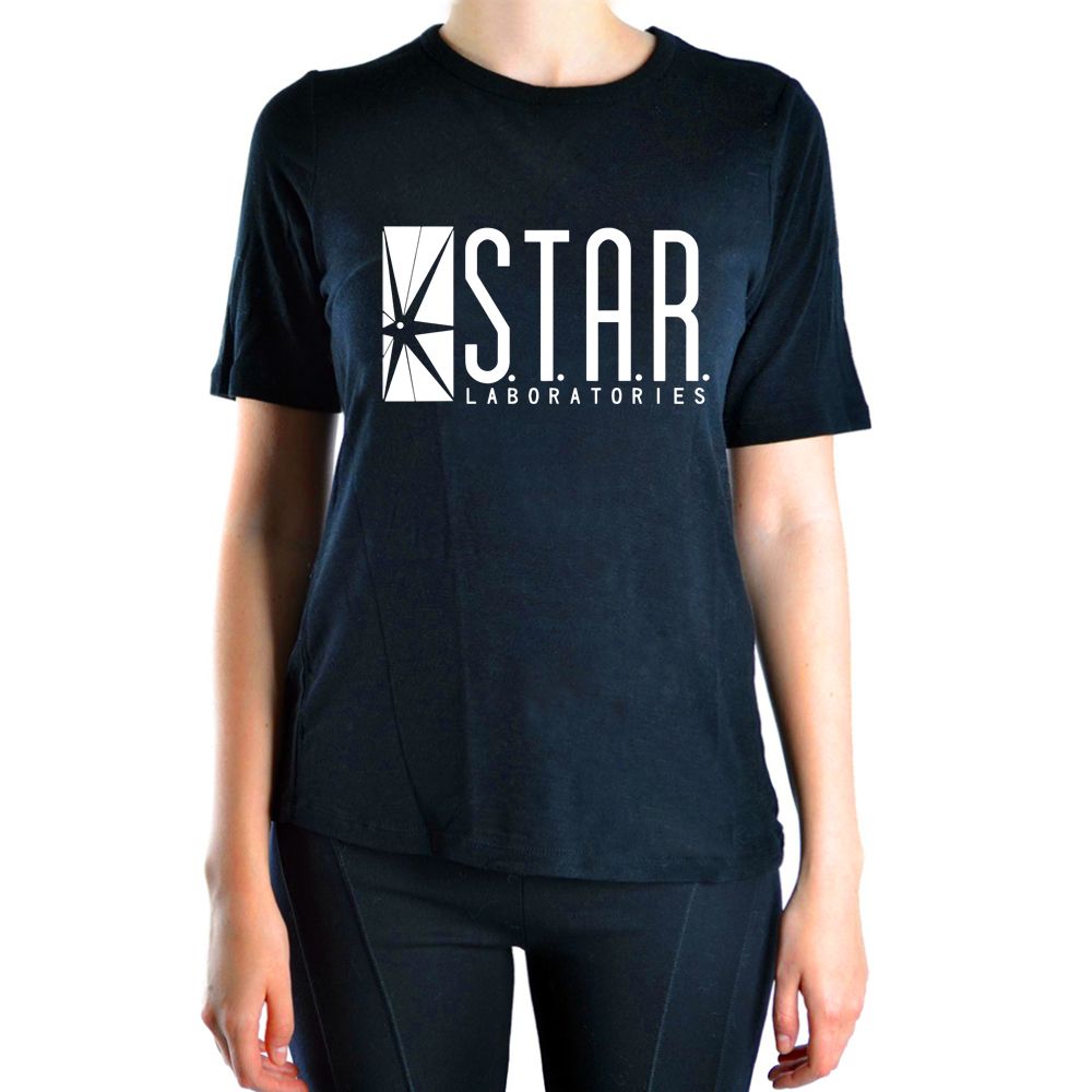 Superman Series STAR S.T.A.R.labs fashion wome t shirt 2019 Summer hot sale t-shirt women cotton high quality brand clothing