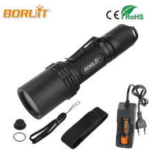 BORUIT Powerful XPL LED Flashlight XPL2 1800LM High Power 5Mode Zoomable Flashlamp MINI Portable Lantern 18650 Torch For Camping(China)