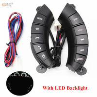 Car Steering Wheel Control Buttons for Great Wall Hover H3 H5 Back Light volume audio mute mode Switch Remote Control Buttons
