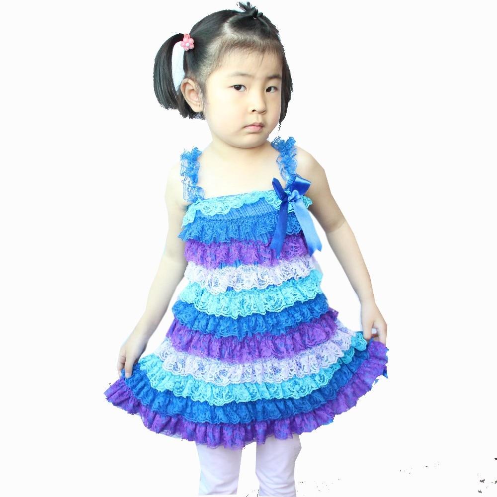 Girls Dress Sleeveless Princess Baby Wedding Party Mini A-line Summer pudcoco baby girls fashion dress 1 piece polk dot dresses