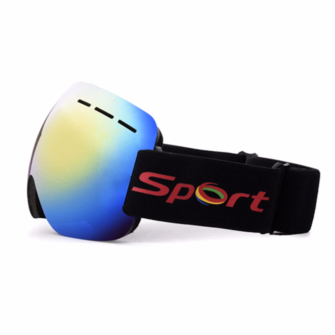 Adult Ski Glasses Anti-fog  Double Lens UV Skiing Goggles Snow Skiing Snowboard Winter Sport Sunglasses Motocross Eyewear