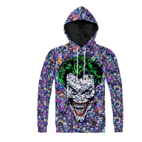 Batman Joker DC Comics Superhero 3D Print Hooded Sweatshirts Women Men Harajuku Style Hoodies Homme Funny