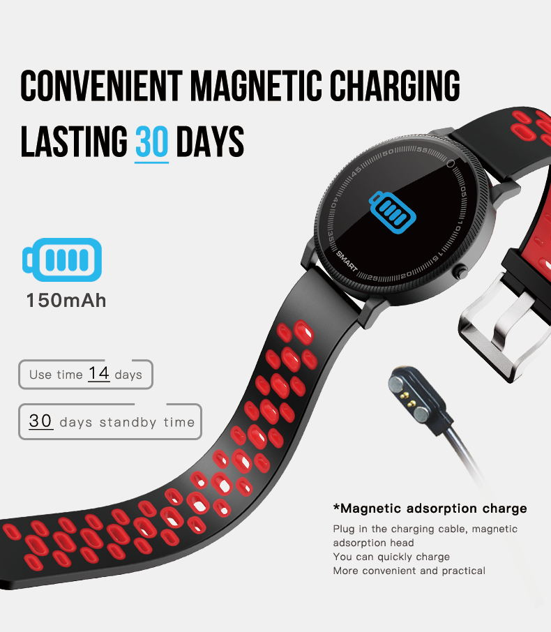 MOCRUX F4 Color Touch Screen Smartwatch Smart Sport Fitness Watch Men Women Heart rate monitor Wearable Devices for IOS Android (7)