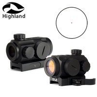 Hunting AR15 Rifle Spec Reflex Red Dot Sight 5 MOA Red Green Dot Reflex Scopes with Quick Release Picatinny Rail Mount