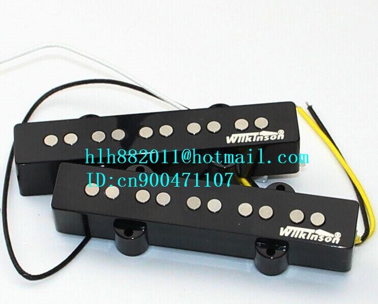Nouveau micro guitare basse électrique 5 cordes ouvert en W-8369 noir