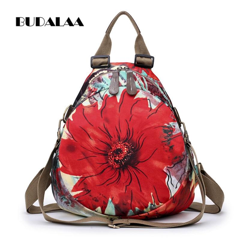 Budalaa  Women fashion bag Casual shoulder bag Tote-shoulder Bag Famous Brands Designers Large Capacity  Flower bag