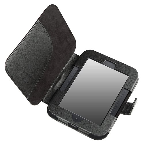 Leather Case for Barnes and Noble Nook Simple Touch with GlowLight ...
