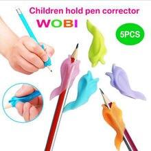Wobi дельфин осанки коррекции пера карандаш держатель дети