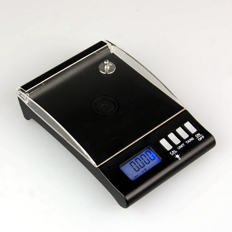 0.001g Digital Counting Carat Scale 30g x 0.001 Precision Portable Electronic Jewelry Scales Gold Germ Medicinal Tray Balance