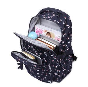Image 5 - Preppy Stil Frauen Rucksack Nylon Rucksack Schule Taschen für Teenager Mädchen frauen Rucksäcke Weibliche Reisetasche Mochila Femini 983
