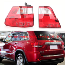 MIZIAUTO Inner/Outer Tail Light for Jeep Compass Grand Cherokee 2011 2012 Tail Assembly Rear Light Tail Brake Lamp Car Styling led tail light assembly car styling 12v 24v 24w back up stop parking lamp for jeep wrangler 07 17 car tail light usa eu version
