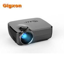 Gigxon-G700 Full HD Mini Proyector Portátil de Cine En Casa LED TV Videojuego Beamer 1200 Lúmenes SD HDMI USB 1080 P Proyectores LCD