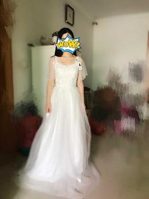 69133b54dc9 На заказ недорогие Короткие рукава летние платья Пляжная свадьба ...