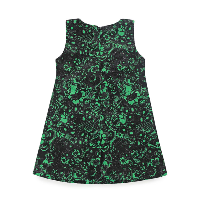 2018 Nueva ropa de las muchachas estilo europeo 2-10T sin mangas - Ropa de ninos - foto 2
