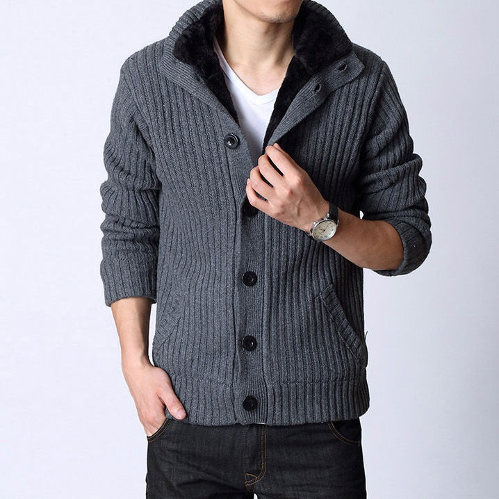 4354bdf201e 2015 Stylish High Quality New Brand Men Sweater Mens Woolen Cardigans Men  Knitwear Fitness Casual Thick Cardigan Costumes Coat -in Cardigans from  Men s ...