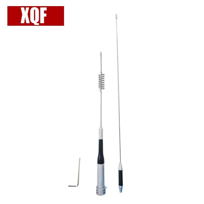 US $13 81 25% OFF|XQF UV dual band 144Mhz 430Mhz mobile radio antenna  Diamond antenna SG M507 High gain antenna for walkie talkie car radio-in  Walkie