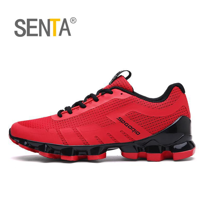 SENTA 2018 Blade summer brand sneakers men outdoors breathable sports running shoes for men sports used on treadmill