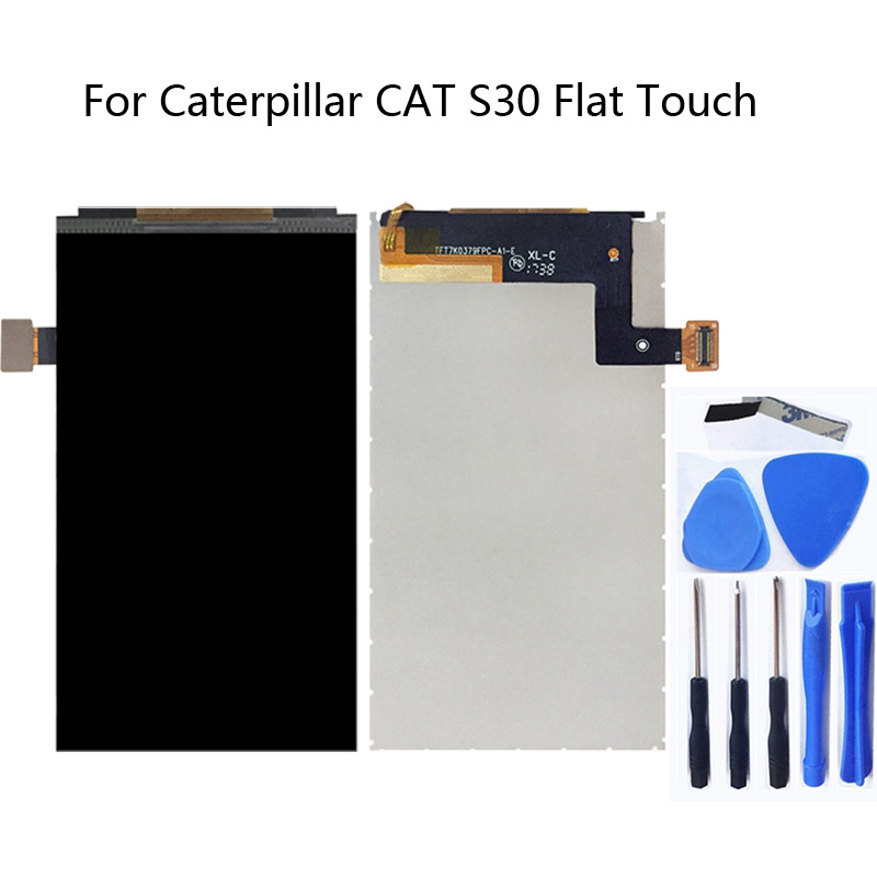 For Caterpillar CAT S30 LCD Monitor Accessories Mobile Phone Screen Repair Accessories 100% Test 4.5'' for Cat S30 Replacement-in Mobile Phone LCD Screens from Cellphones & Telecommunications
