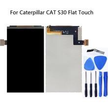 """Para Caterpillar CAT S30 Monitor LCD accesorios de pantalla del teléfono móvil accesorios de reparación 100% prueba de 4,5 """"de gato para gato S30 de reemplazo"""