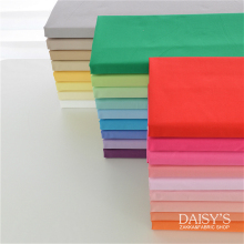 Free shipping 160cm x 50cm solid color fabric twill pure cotton cloth, can make Bedding lining baby cloth fabric 160g/m