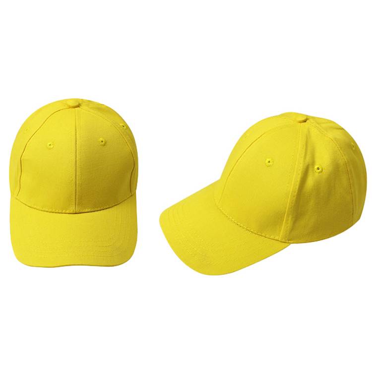IMC NEW Kids Plain Baseball Cap Girls Boys Junior Childrens Hat  Summer-Yellow bf7c9c2e0149