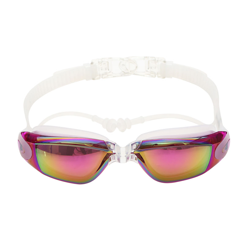 optical prescription myopia swimming goggles for men women with earplug and adult diving glasses