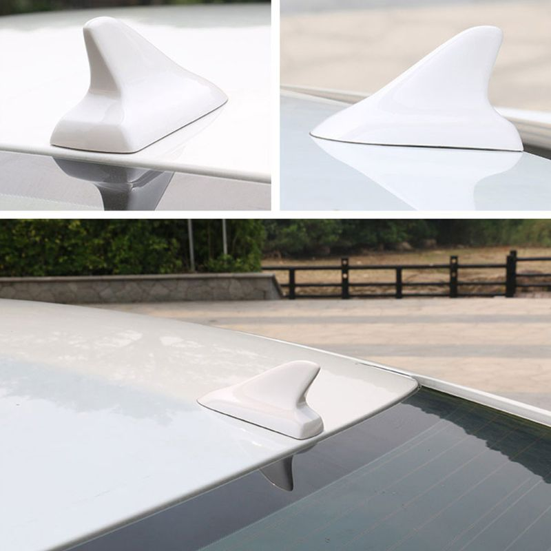 DECKAS 2019 New Shark Fin Decoration Antenna Car Aerial Roof Car Accessories For VW Nissan Honda BMW Toyota Camry Kia in Aerials from Automobiles Motorcycles