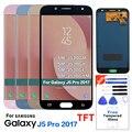 Für Samsung Galaxy J5 2017 J530 LCD Display Touchscreen Digitizer Montage J5 2017 J530 Ersatz Display LCD Screen + werkzeug-in Handy-LCDs aus Handys & Telekommunikation bei