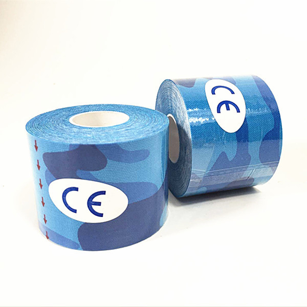 Elastic Bandage Cotton Self Adhesive Tape Sport Injury Muscle Strain Protection Fitness Protective Tapes 2.5cm*5m Bandages