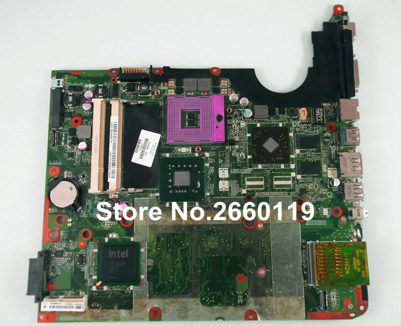 laptop motherboard for HP DV7 516292-001 system mainboard fully tested and working well 600862 001 mainboard for hp dv7 laptop motherboard 100