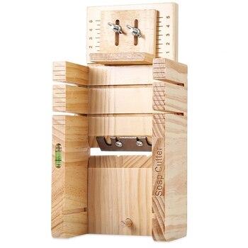 Drewniane mydło cutter formy sosna materiał żywica mydło formy kremówki mydło dokonywanie dostaw drewniane mydło Mold narzędzia do cięcia