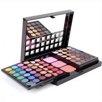 LEARNEVER Professional Makeup Eyeshadow Palette Blush Lip Gloss Beauty Cosmetic Set Powder Pigment Contour Pallete Brushes