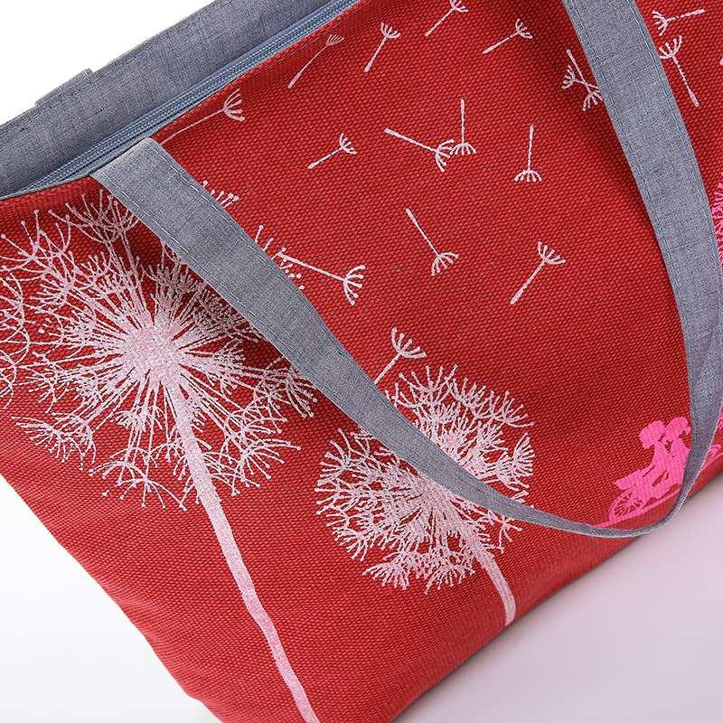 lona mulheres bolsa bolsas de Abacamento / Decoração : Nenhum