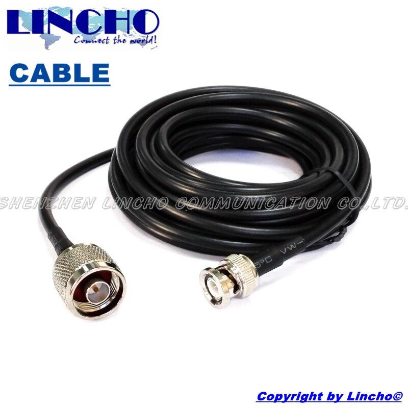 Cable alargador BNC de 5 metros hembra a macho