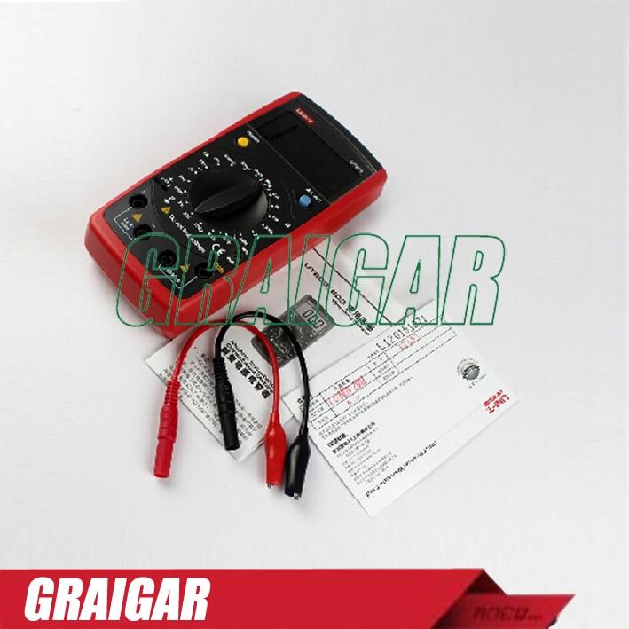 ФОТО Digital Inductance Capacitance Meter UNI-T UT603 Insulation Tester RESIOSTOR Meter 20H 600uF