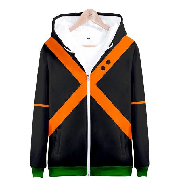 My hero academia hoodies izuku midoriya shouto todoroki boku no hero academia Cosplay Costume Sweatshirt boys girl Zipper Jacket 3