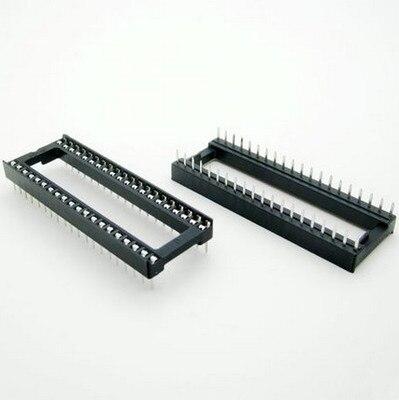 10 unids/lote 40pin DIP IC conectores adaptador de tipo de soldadura de 40 pines en Stock