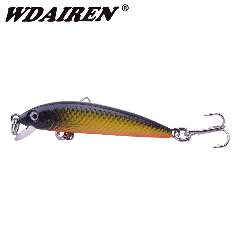 1Pcs Topwater Swim Wobbler Fishing Lure 5.5cm 3.5g Artificial Hard Crank Bait Japan Mini Fishing Crankbait carp lure WD-274 1pcs fishing lure 7cm 8 1g minnows artificial hard bait wobbler spinner japan mini crankbait carp fishing topwater yr 202