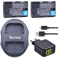 2Pcs LP E6 LP E6 LP E6N Li Ion Battery USB Dual Charger AC Adapter For