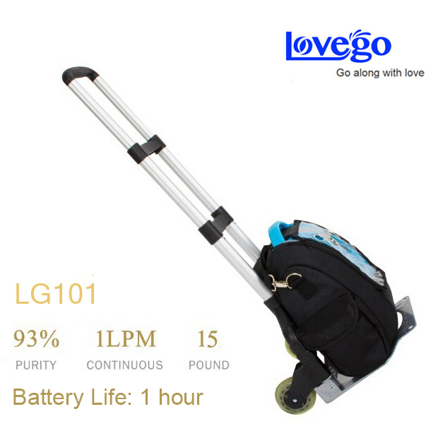купить 2 batteries + 2 charger + Lovego portable oxygen concentrator