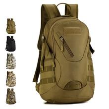 HS RHYME Waterproof 3D Military Tactics Backpack Rucksack Bag 20L for Hike Trek Camouflage Travel Backpack X67