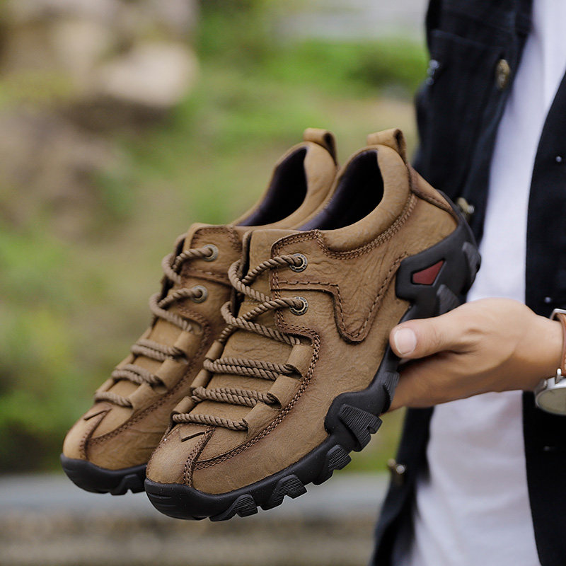 New Mens Tactical Boots Genuine Leather Men Outdoor Sport Shoes Breathable Sneaker Mountain Hiking Shoes Men Hunting BootsNew Mens Tactical Boots Genuine Leather Men Outdoor Sport Shoes Breathable Sneaker Mountain Hiking Shoes Men Hunting Boots