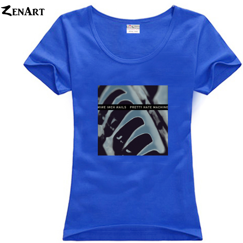 NIN Pretty Hate Machine Nine Inch Nails woman female cotton plus ...