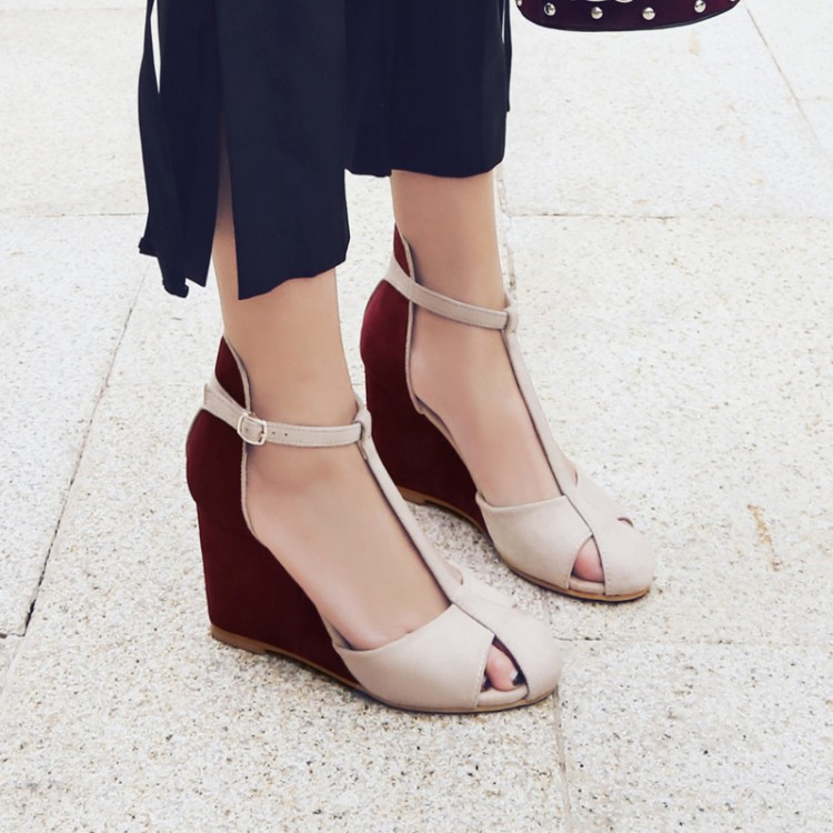 High-quality-Spring-summer-T-strap-fashion-women-wedges-sandals-lady-ankle-strap-sandals-pumps-dress (2)