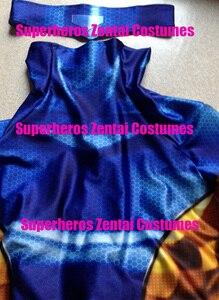 Image 4 - Hoge Kwaliteit 3D Print 90S Jean Grey X Mannen Cosplay Kostuum Zentai X Man Outfit Vrouw/meisjes/Lady Xmen Kostuums, alleen Bodysuit