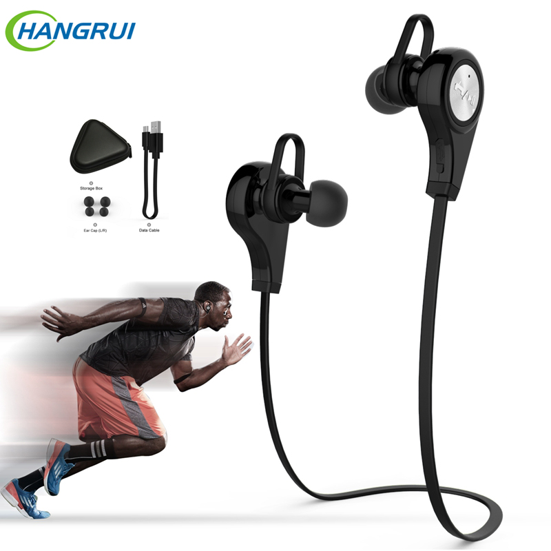 New Q9 Wireless Bluetooth 4.1 Earphones Stereo Music headsets For Samsung iPhone 6s xiaomi mi hifi super bass wireless headphone цена